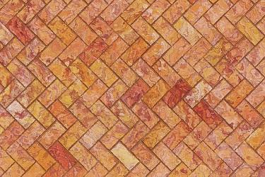 brick wall herringbone pattern